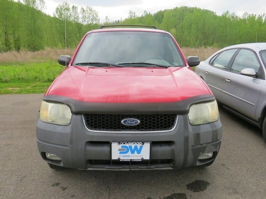 Get 2002 Ford Escape Mpg